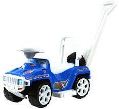 Транспорт <b>Орион Машинка</b>-<b>каталка</b> с ручкой 856 <b>Ориончик</b> (синий)