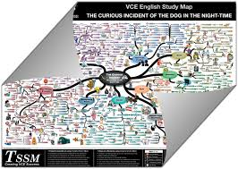 vce the curious incident of the dog in the night time study map an example of the study map is shown below