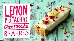 Lemon <b>Pistachio</b> Cheesecake Bars | The Scran <b>Line</b> - YouTube