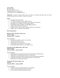 sample resume for cashier and waitress sample customer service sample resume for cashier and waitress waitress resume example and writing tips must restaurant cashier