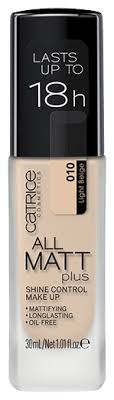CATRICE <b>Тональный крем</b> All Matt Plus Shine Control <b>Make Up</b>, 30 ...