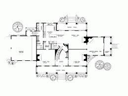 Eplans Plantation House Plan   Five Fireplaces   Square Feet    Level