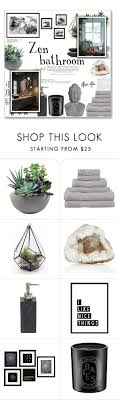 kitty otoole elegant whimsical bedroom: quotzen bathroomquot by lauren a j reid on polyvore featuring interior interiors