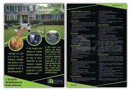serious modern flyer design for michael elia jr by sudhir flyer design by sudhir jhanjhot for home inventory company needs a single full page flyer design