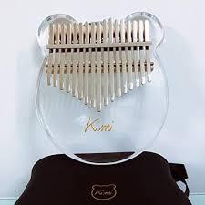 Romsion Kimi <b>Kalimba Acrylic Thumb Piano</b> 17 Keys with: Amazon ...