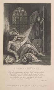 the body electric frankenstein or the modern prometheus london 1831 courtesy of jane and howard frank