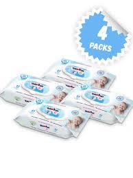 <b>Детские влажные салфетки</b> YokoSun, 256 шт. (64 * 4 уп ...