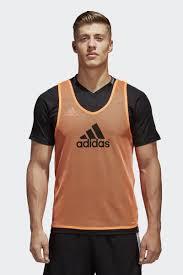 <b>Манишка</b> мужская <b>Adidas Trg BIB</b> 14, цвет: оранжевый. F82133 ...