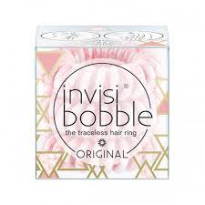 <b>Резинка</b>-<b>браслет для волос ORIGINAL</b> Pinkerbell (розовый мрамор)