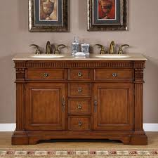 55 inch double sink bathroom vanity:  inch furniture style double sink bathroom vanity