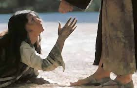 Image result for free pictures of Jesus and the woman caught in adultery