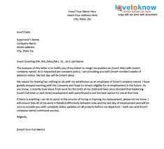 resignation letter format canada    resignation letter format canada