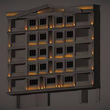 lighting design for kermanshahs building facade building facade lighting