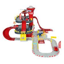 Набор Парковка. Пожарная станция Creatix + 1 вертолет и 1 ...