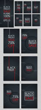 set of black friday flyers set of flyers and black friday set of black friday flyers special offer discount up to off ultimate flyers for business promotion and advertising vector illustration