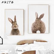 NDITB <b>Woodland Animal Canvas</b> Art Painting Poster Nursery Prints ...