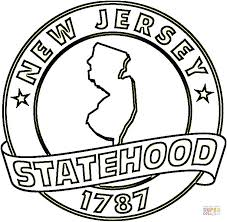 Small Picture New Jersey State coloring page Free Printable Coloring Pages