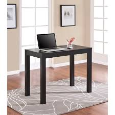 altra parsons black oak laptop writing desk alaska black oak office desk