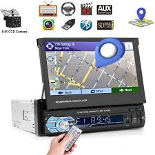 "Car Stereo Single din Car Radio <b>7</b>"" <b>HD Player MP5</b> Touch Screen ..."