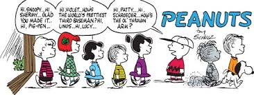 Art Charles Schulz     s    Peanuts     begun in       quickly became the most Kids Britannica