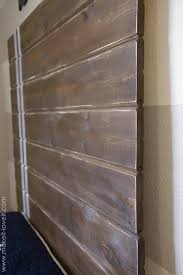Diy Wood Headboard Very Simple Diy Wood Plank Headboard Make It And Love It