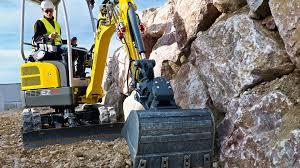Wacker Neuson Excavator EZ17 - YouTube