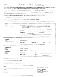 birth record application form sample birth record application form from virginia sample click to return to s beginning genealogy lesson 1