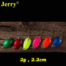 Jerry <b>6pcs</b> 2g pesca micro mini trout spoon lures ultralight river ...