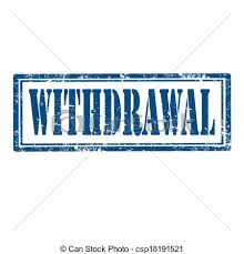 「Withdrawal」の画像検索結果