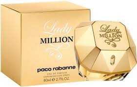<b>Paco Rabanne Lady</b> Million EdP 80ml in duty-free at airport ...