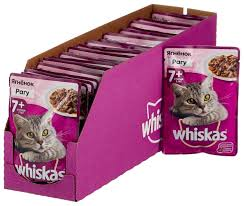 Сколько стоит Корм для <b>пожилых</b> кошек <b>Whiskas</b> с ягненком 85 г ...