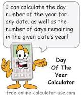 Day of Year Calculator to Calculate Day Number and Days Left