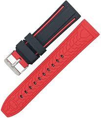 <b>20Mm 22Mm</b> 24Mm <b>26Mm</b> Silicone Watchband Rubber Waterproof ...