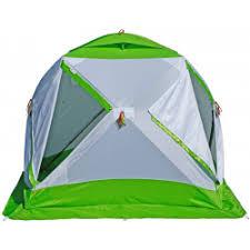 Отзывы о <b>Зимняя палатка Лотос</b> Куб 3 Компакт Термо