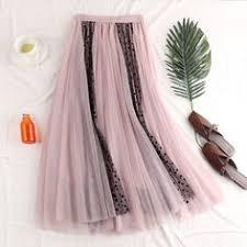 <b>Women</b> Maxi Skirt High Waist Ankle Length Casual Metallic Long ...