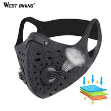 WEST BIKING N95 Antiviral <b>Bicycle Face Mask</b> With Filter Activated ...