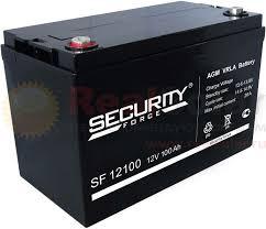 <b>Аккумулятор Security Force</b> SF 12100 - 12v 100Ah купить, доставка