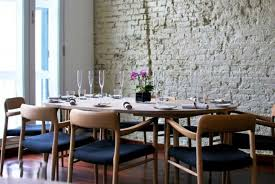 dining room wall decorating ideas:  dining room astounding simple dining room with stone wall decor ideas lovely dining room wall