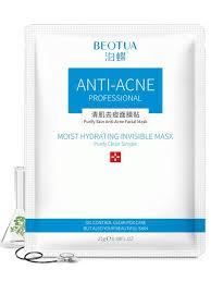 <b>Лечебная маска для лица</b> против акне с экстрактом корня ...
