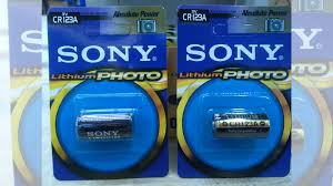 <b>Батарейка CR123A</b> Sony Lithium Photo 3V купить в Москве ...