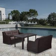 <b>Комплект мебели AFINA GARDEN</b> T51A/S51A-W53 Brown: купить ...