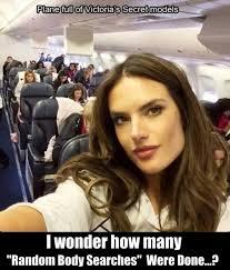 Plane full of victorias secret models | Funny Dirty Adult Jokes ... via Relatably.com