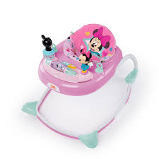 Bright Starts <b>Disney Baby Minnie Mouse</b> Baby Walker with Activity ...