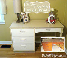 5 thrift store desk transformed with chalk paint chalk paint painted furniture before chalk painting furniture ideas