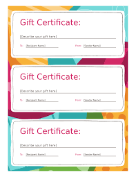 doc printable gift certificates templates best gift certificate template printable gift certificates in printable gift certificates templates