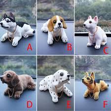 <b>Cute</b> Creative <b>Car</b> Doll Shaking Head Dog Ornaments <b>Car Interior</b> ...