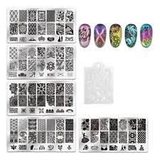 Full Nail/Wrap <b>Nail Art Stamping</b> Plates for sale | eBay
