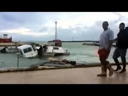 Tonga torn apart by Cyclone Gita - YouTube