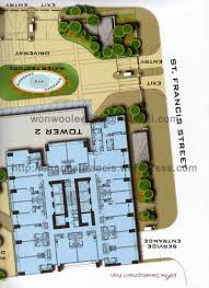 brochure shangri la st francis tower condo for rent manila francis pent house brochure page 04