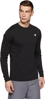 New Balance Men's Accelerate NB Dry Long Sleeve ... - Amazon.com